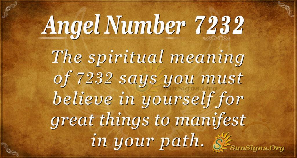 7232 angel number
