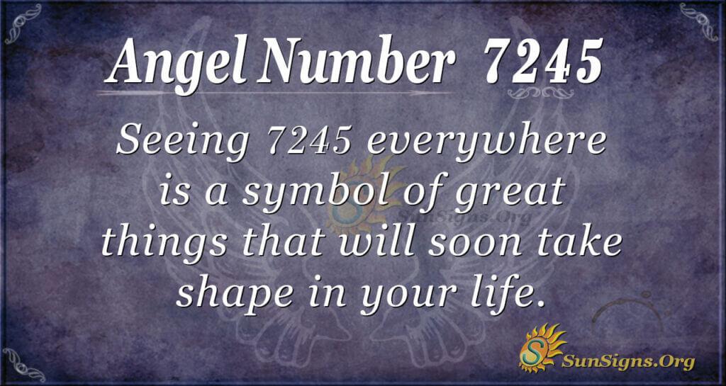 7245 angel number