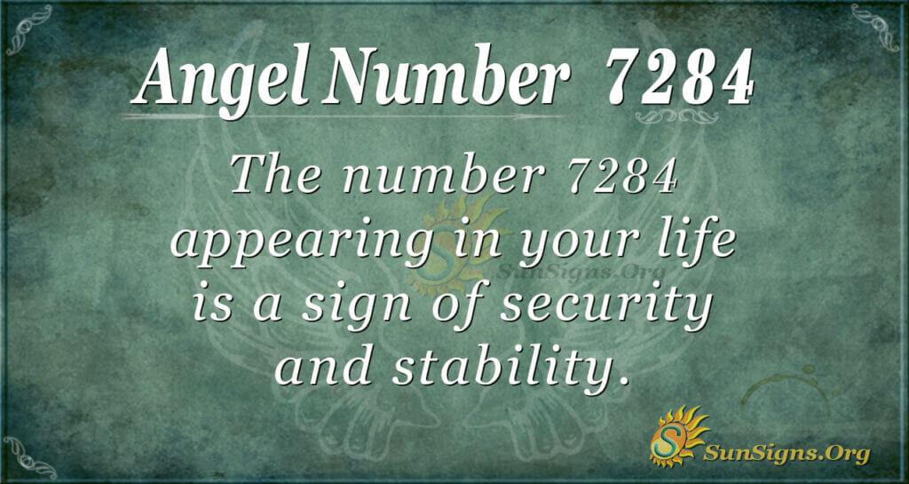 7284 angel number