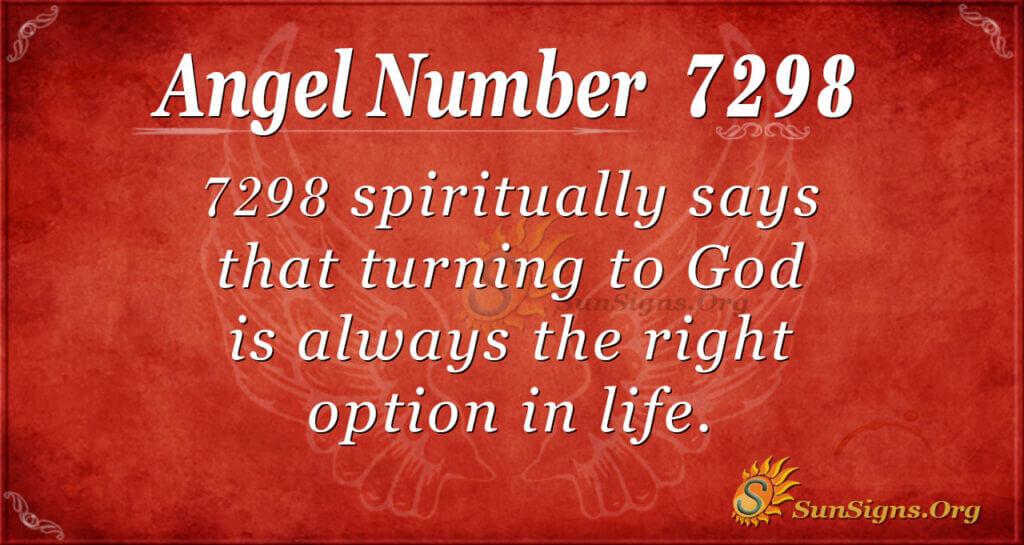 7298 angel number