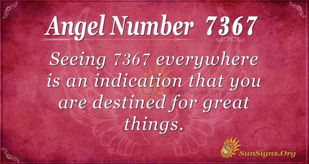 7367 angel number