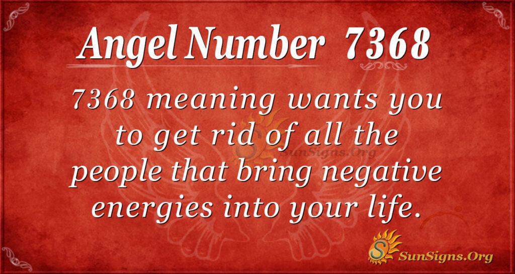 7368 angel number