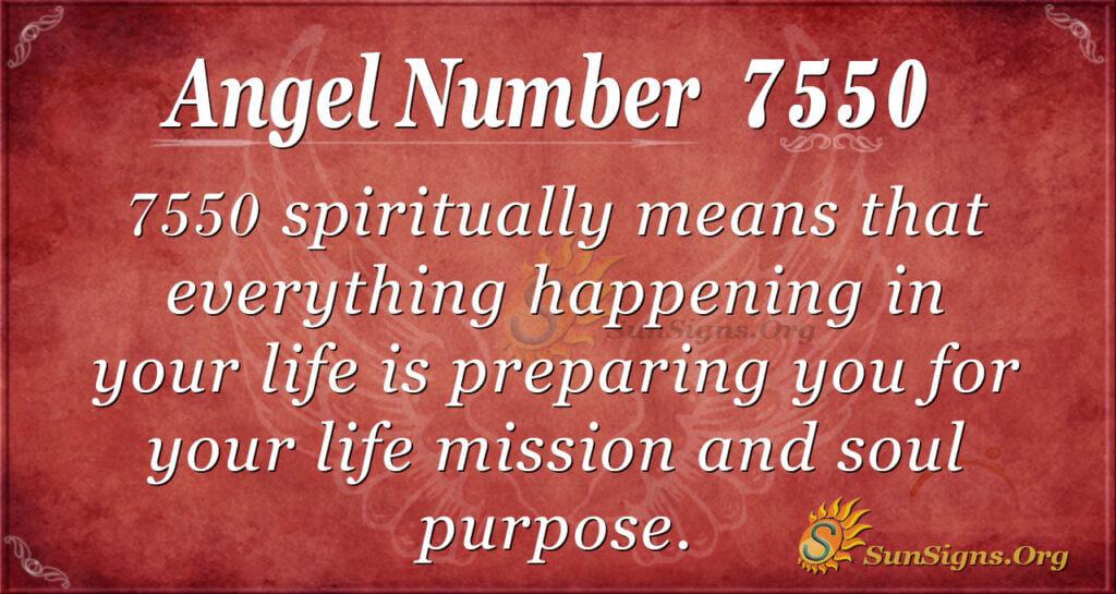 7550 angel number