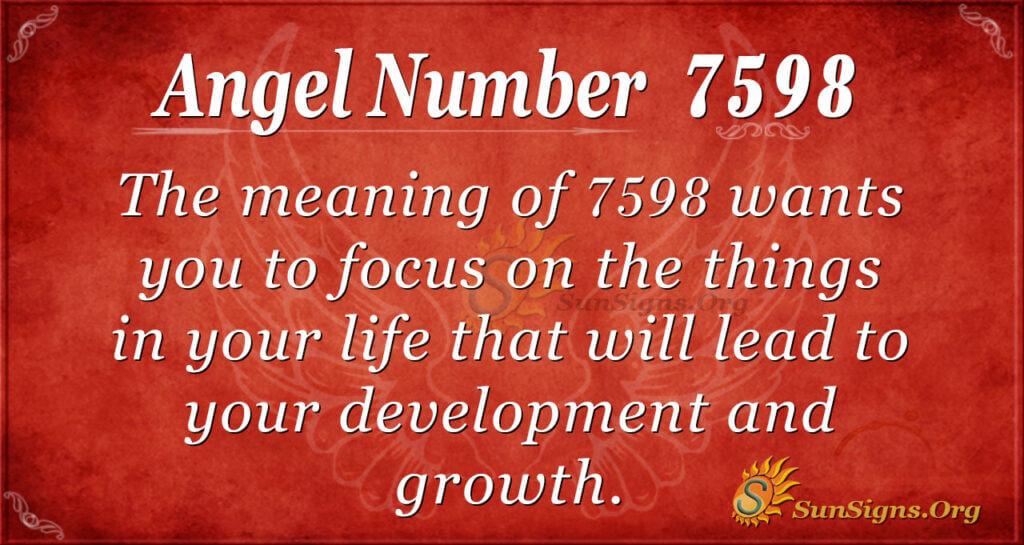 7598 angel number