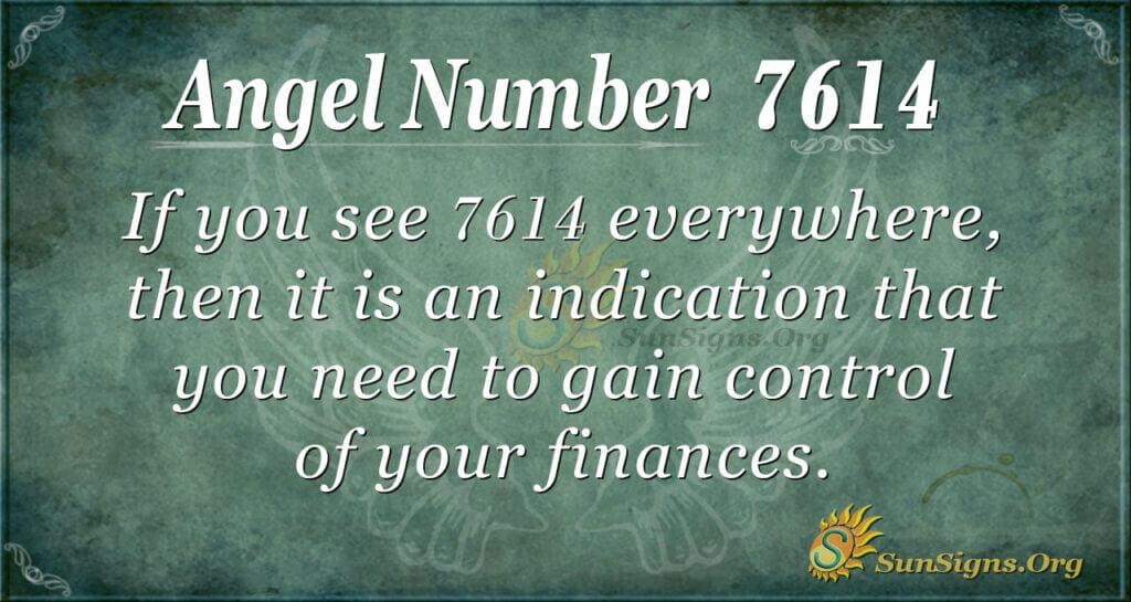 7614 angel number