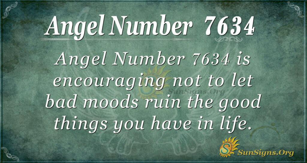 7634 angel number