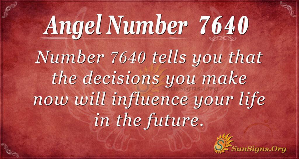 7640 angel number