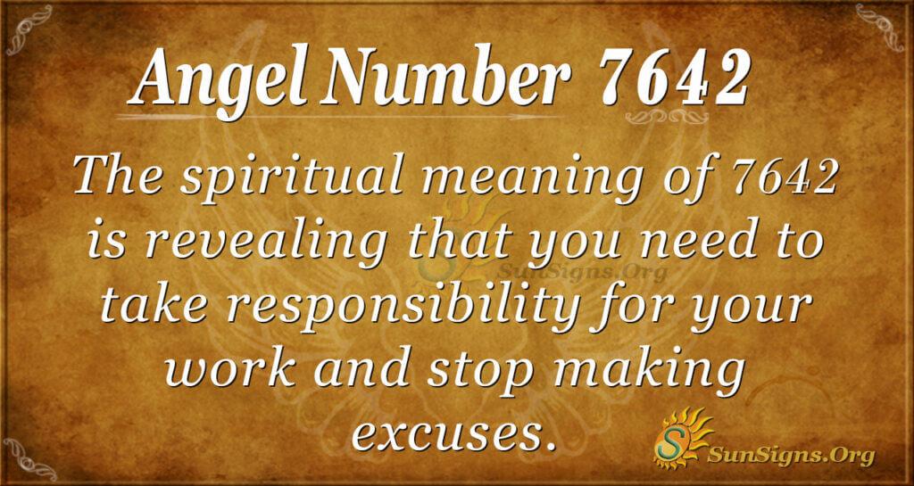 7642 angel number