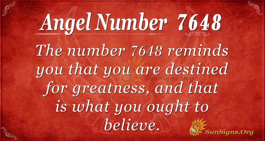7648 angel number