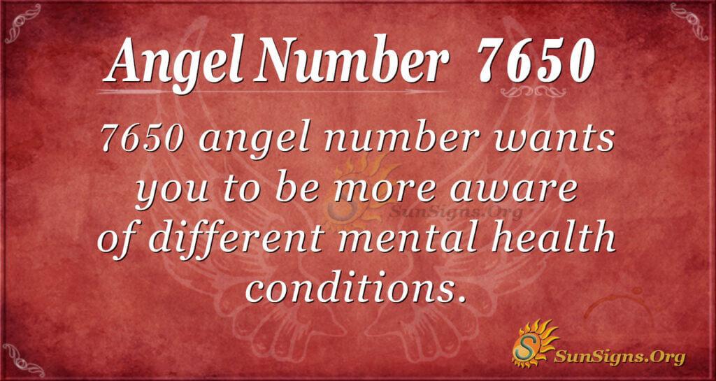 7650 angel number
