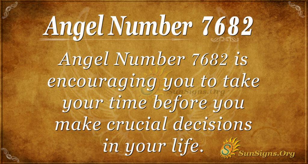 7682 angel number