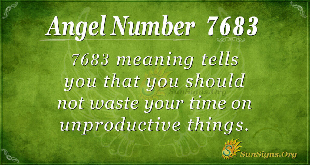 7683 angel number