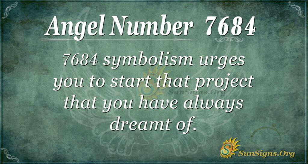 7684 angel number