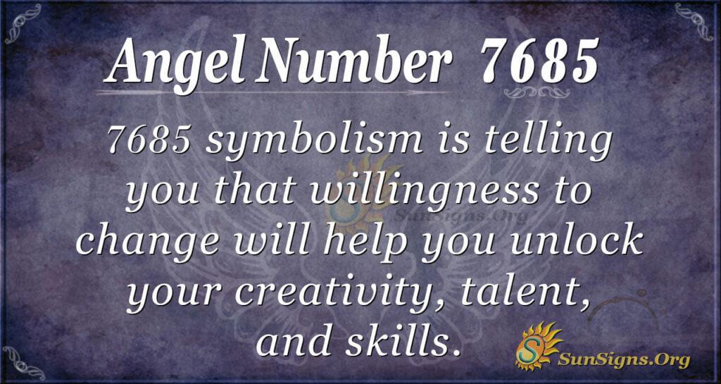7685 angel number