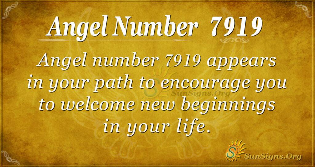 7919 angel number