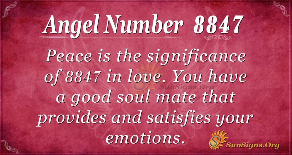 8847 angel number