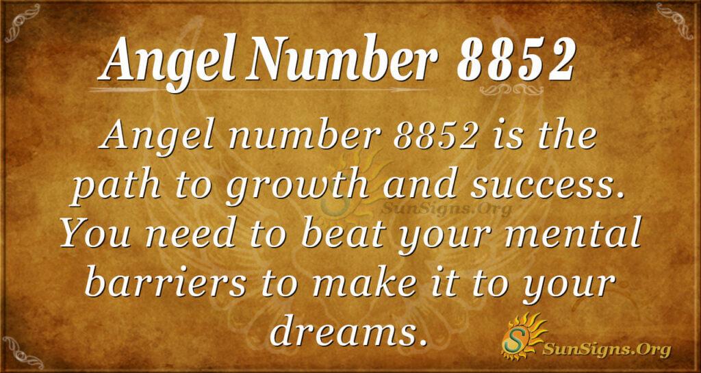 8852 angel number