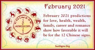 february 2021 chinese horoscope