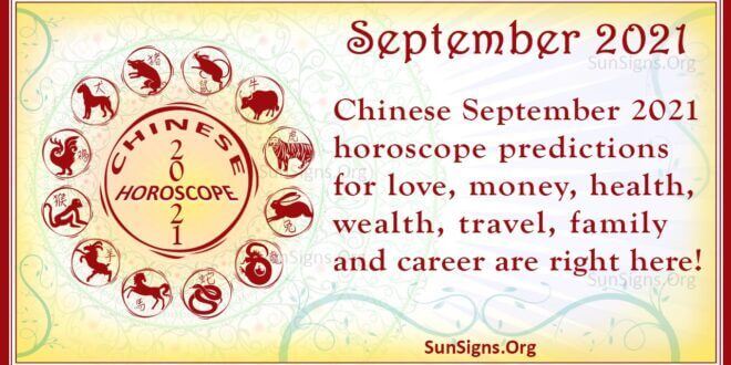 september chinese horoscope 2021