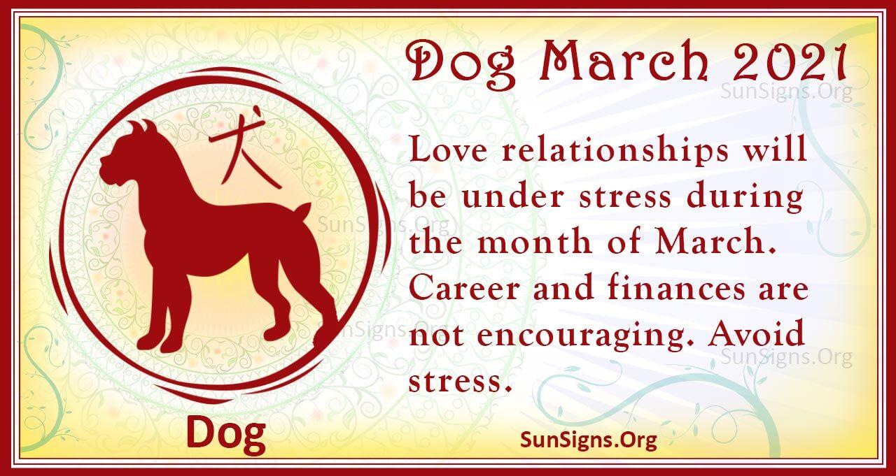 dog march 2021