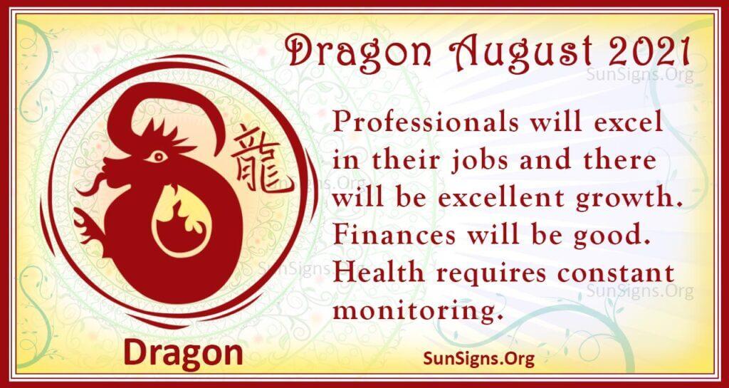 dragon august 2021