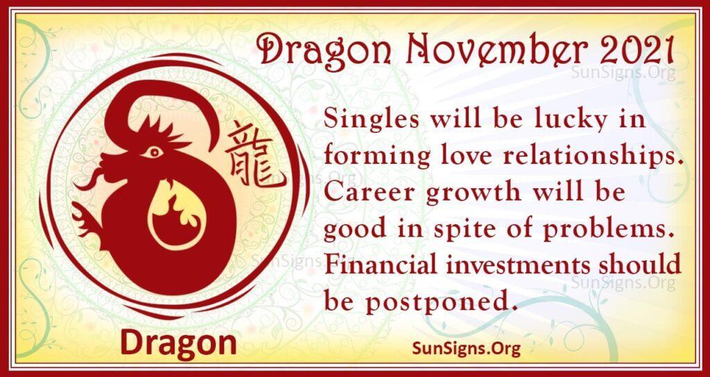 dragon november 2021