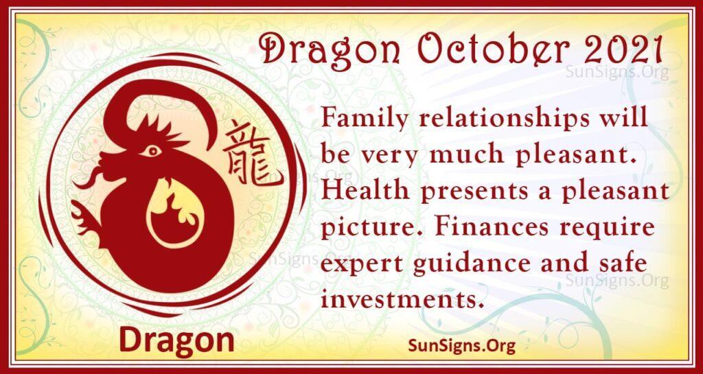 dragon october 2021