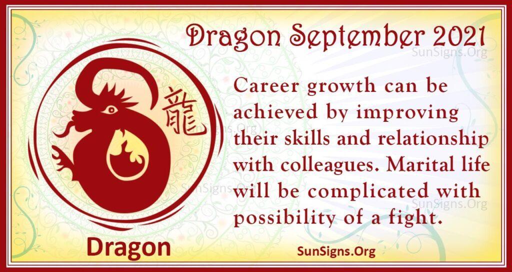 dragon september 2021