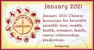 january 2021 chinese horoscope