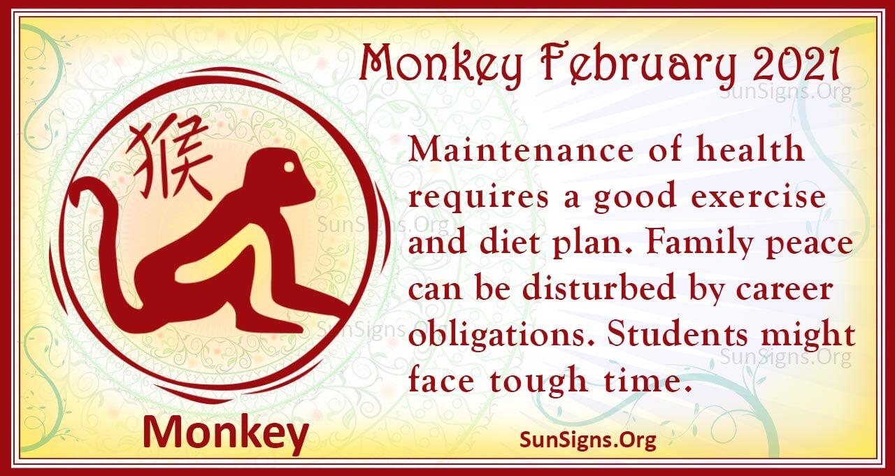 monkey february 2021