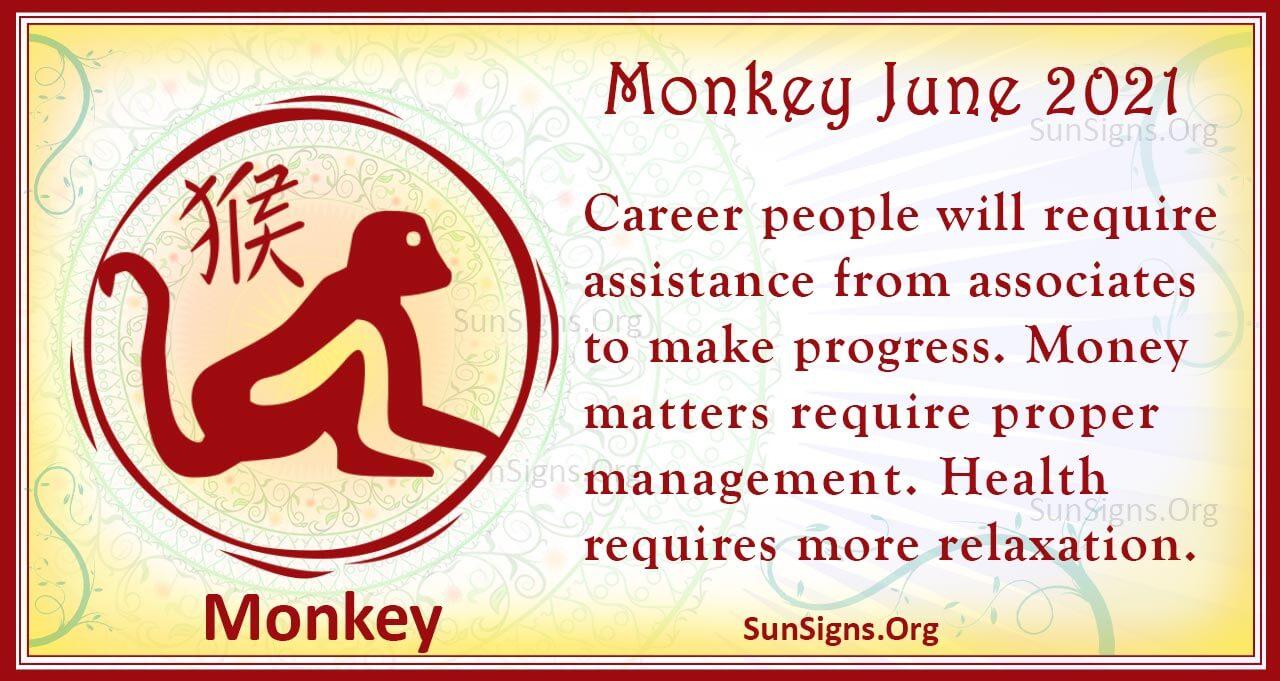 monkey june 2021