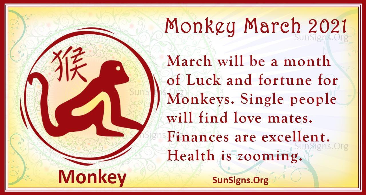 monkey march 2021