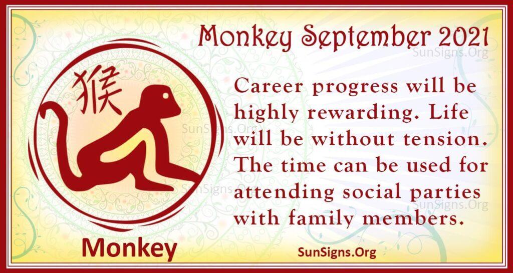 monkey september 2021