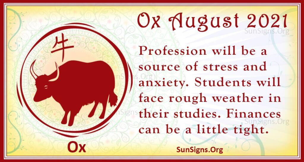 ox august 2021