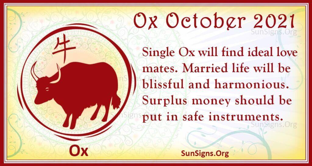 ox october 2021