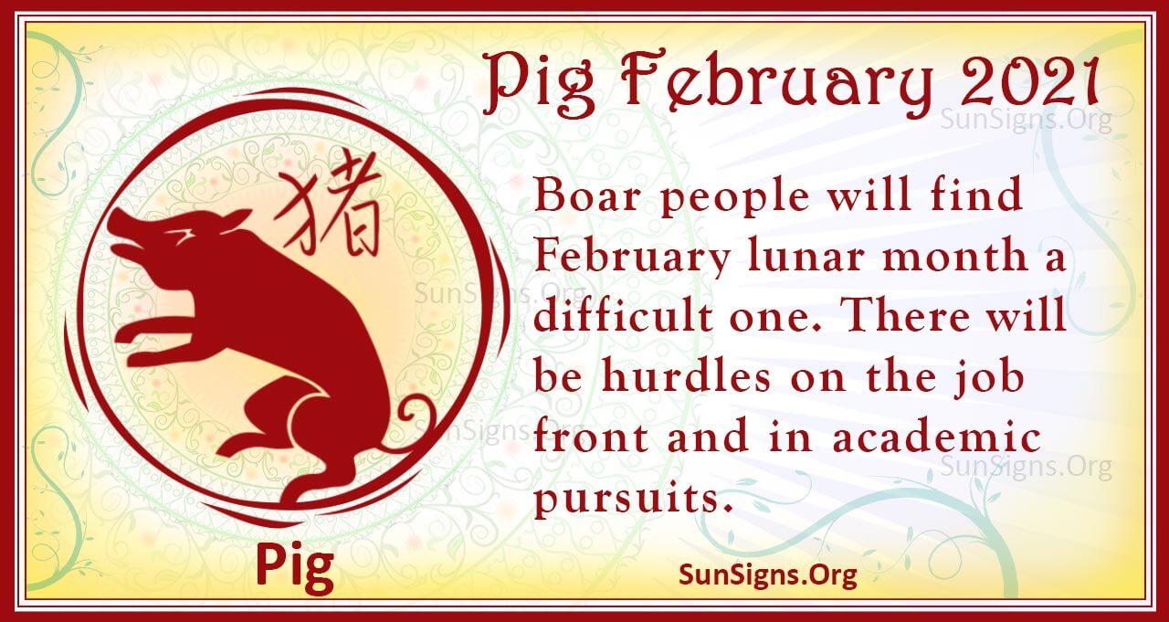 pig february 2021