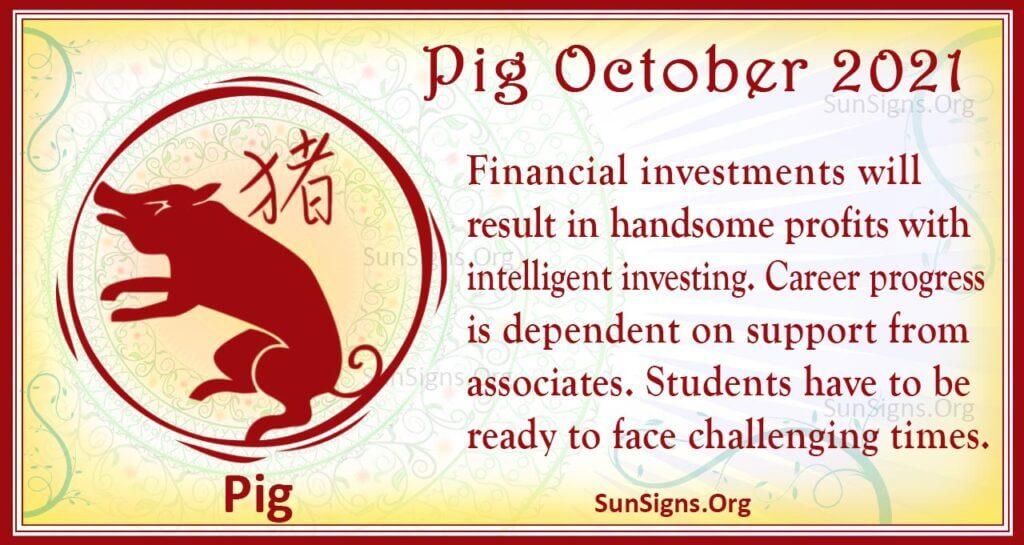 pig october 2021