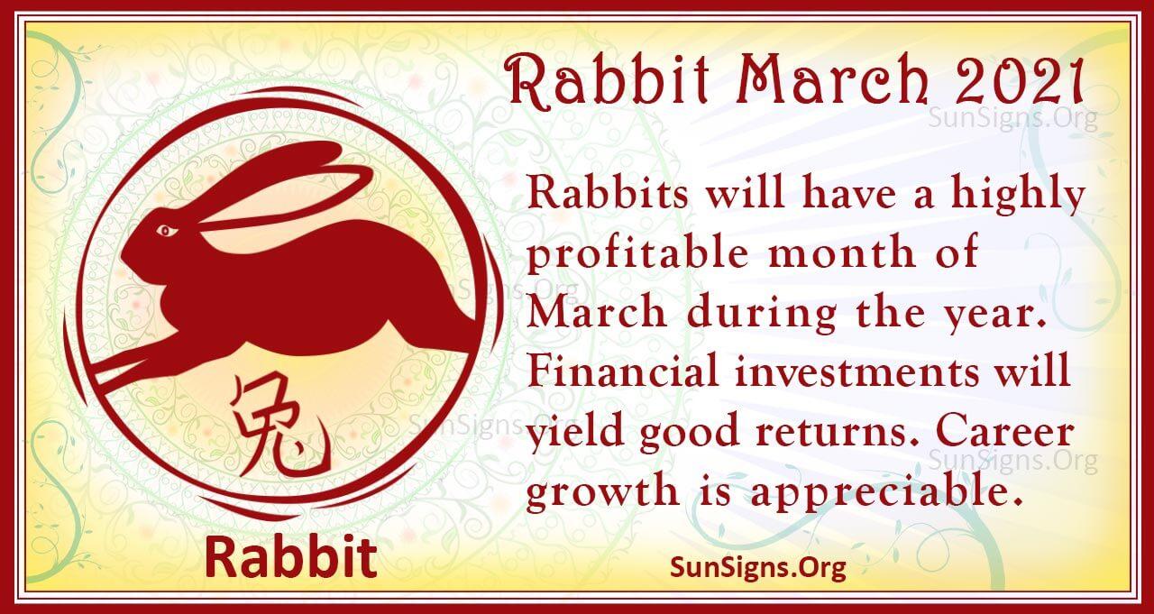 rabbit march 2021