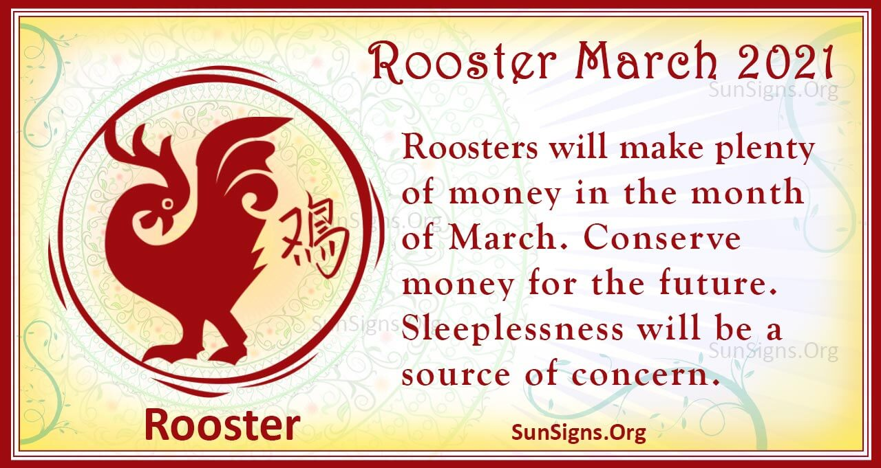 rooster march 2021