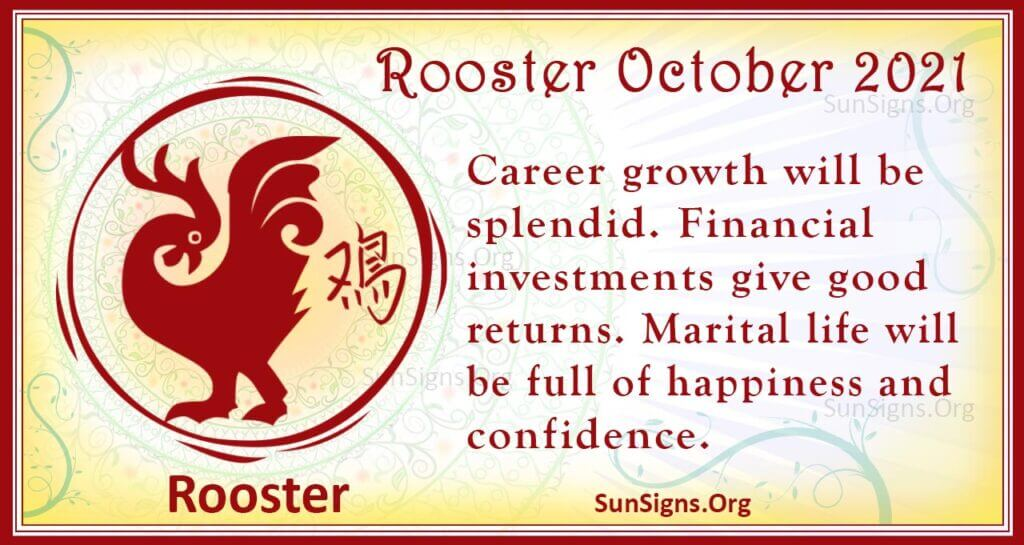 rooster october 2021