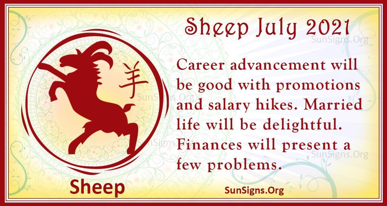 sheep july 2021