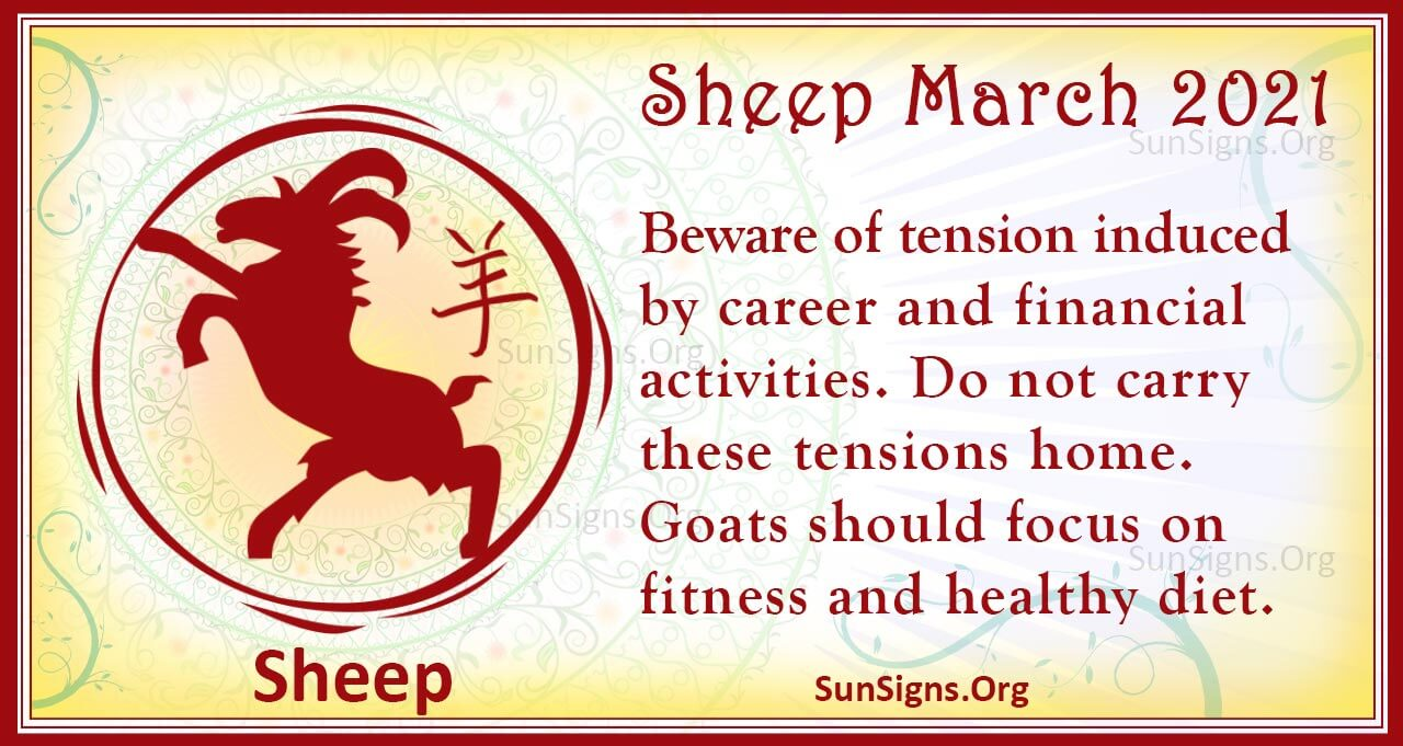 sheep march 2021