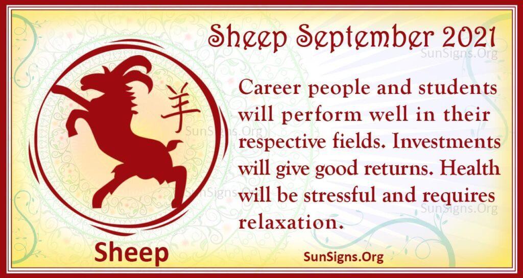 sheep september 2021