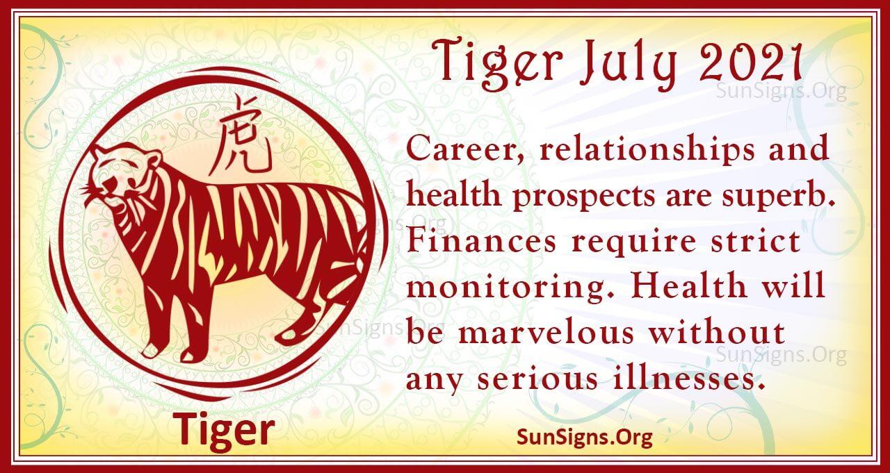 tiger july 2021