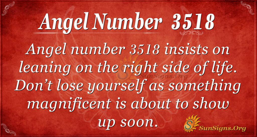 3518 angel number