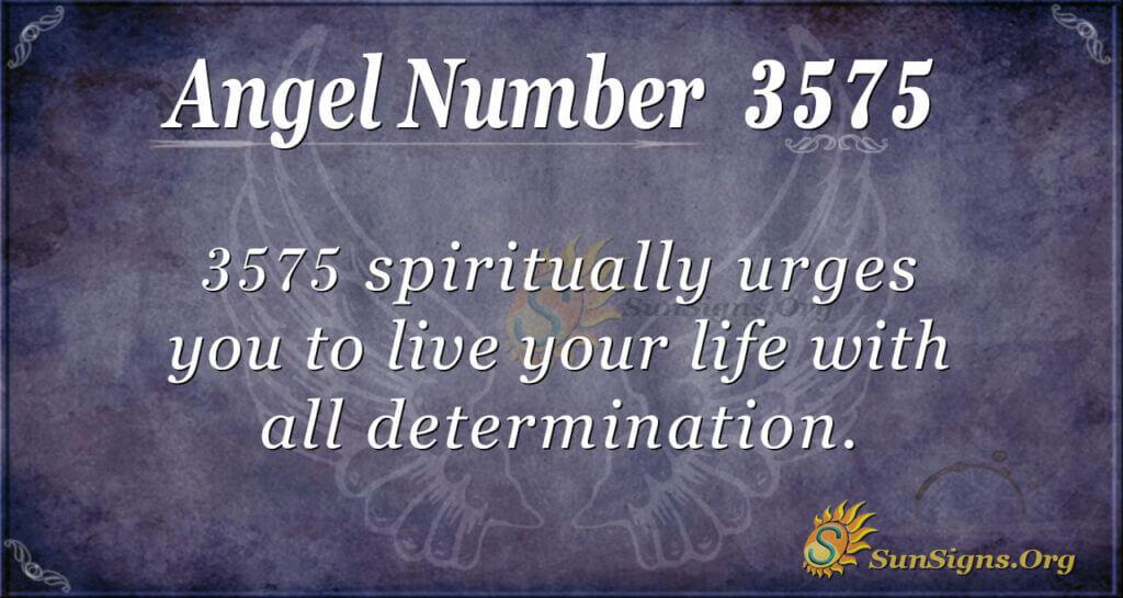 3575 angel number