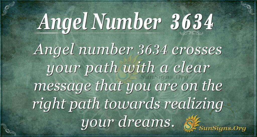 3634 angel number