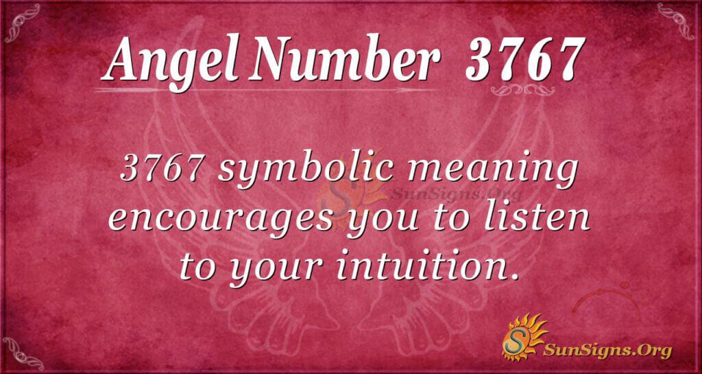 3767 angel number