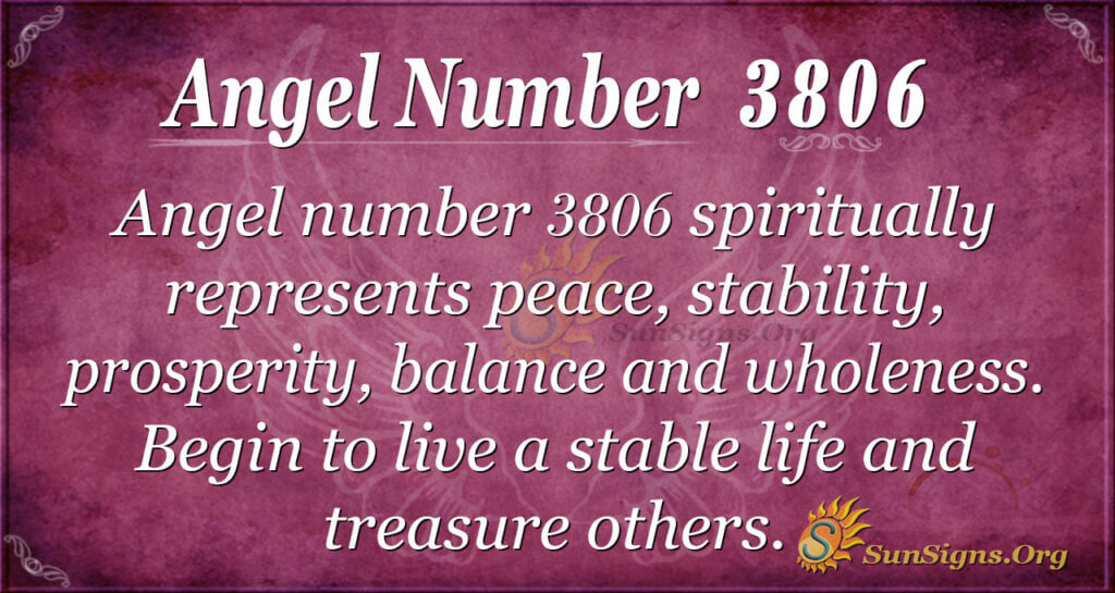3806 angel number