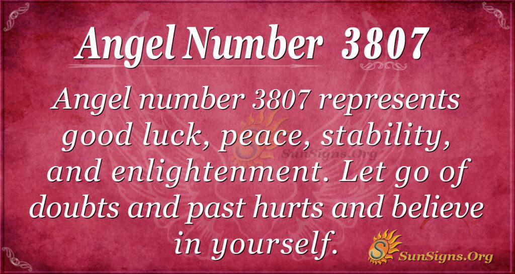 3807 angel number